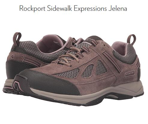 6PM海淘!Rockport 乐步 Sidewalk女士网面休闲运动鞋