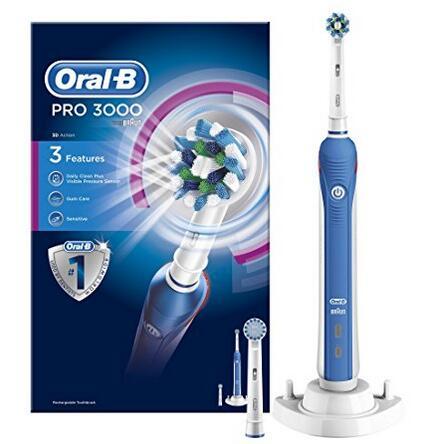 海外购金盒特价!Oral-B 欧乐-B PRO 3000 电动牙刷