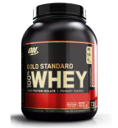 下手趁早!Optimum Nutrition Whey 乳清蛋白增肌粉草莓味2.27kg