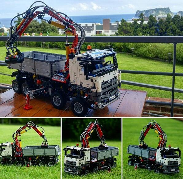 沃尔玛官网海淘!LEGO 42043 Technic 梅赛德斯奔驰 Arocs 3245卡车