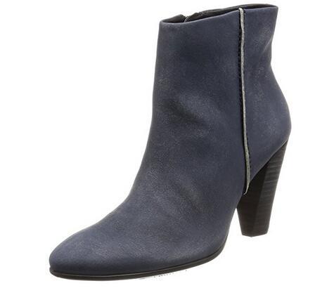 反季囤货!ECCO 爱步 Shape 75型塑系列女士真皮高跟短靴
