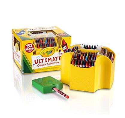 送孩子礼物!Crayola 绘儿乐 152支装蜡笔套装