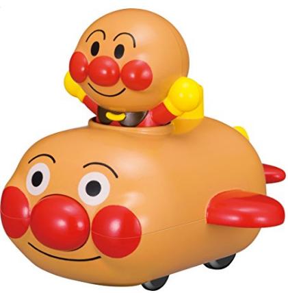 日亚凑单推荐!面包超人 发条动力回力惯性小车玩具