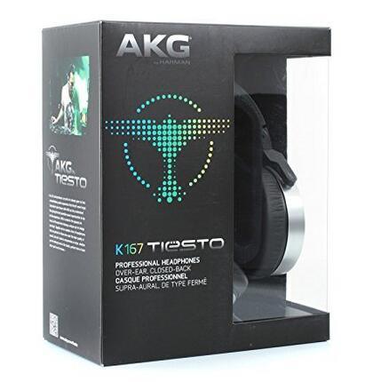 亚马逊海外购!AKG Pro 爱科技 Audio K167 TIESTO DJ专业监听耳机