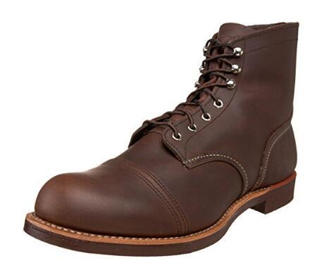 限8码好价!RED WING 红翼Heritage Iron Ranger 6英寸  男士工装靴