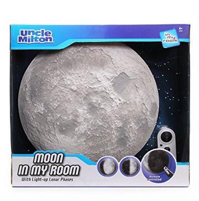 亚马逊海外购!Uncle Milton 米尔顿叔叔 3d模拟月相灯