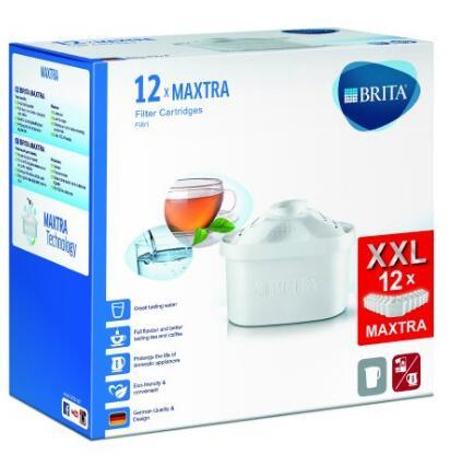 海外购新低!Brita 碧然德德国原装进口 Maxtra二代双效滤芯12只装
