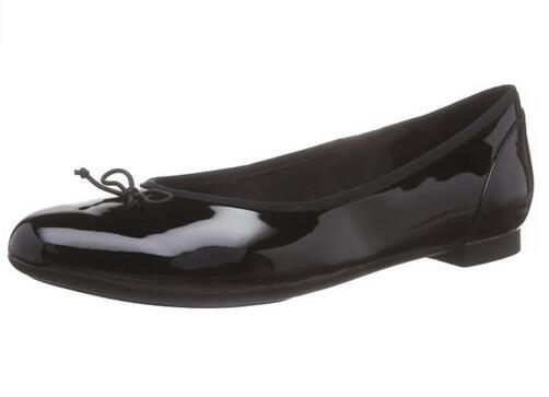 值得买!Clarks 其乐 Couture Bloom女士真皮芭蕾平底鞋