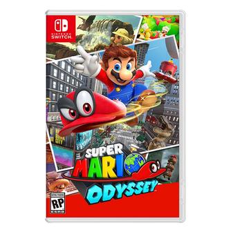 新品预售,《Super Mario Odyssey(超级马里奥:奥德赛)》Switch卡带游戏