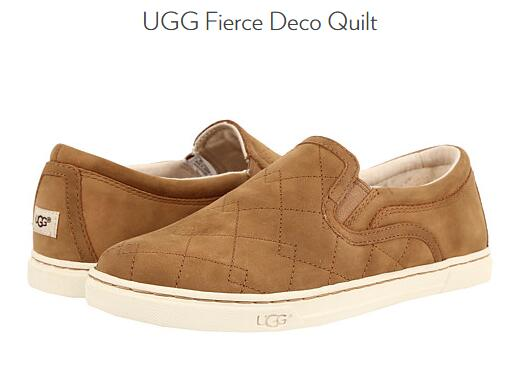 6PM免邮推荐!UGG Fierce Deco Quilt 男士真皮休闲鞋