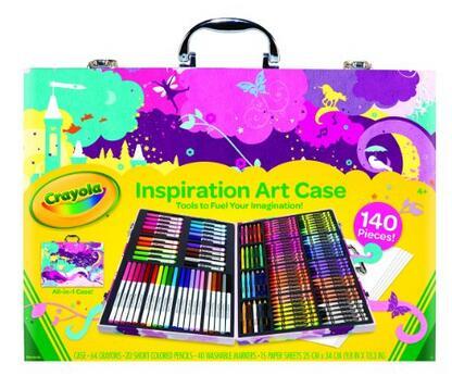 亚马逊海外购!Crayola 绘儿乐 Inspiration 小艺术家精美礼盒绘画套装