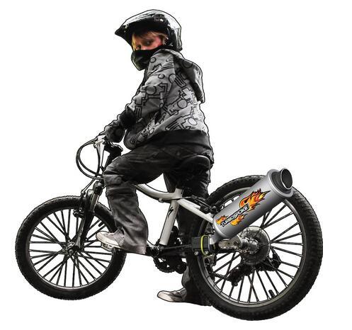 好玩凑单直邮!Turbospoke 自行车涡轮摩托音效排气管