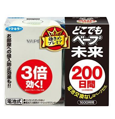 亚马逊海外购!日本销量顶尖的VAPE 电子驱蚊器
