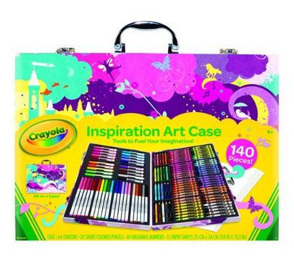 亚马逊海外购凑单!Crayola 绘儿乐灵感画笔套装140件套
