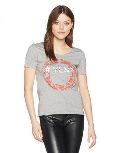 海外购值得买!Boss Orange 博士橙标 女士休闲短袖T恤