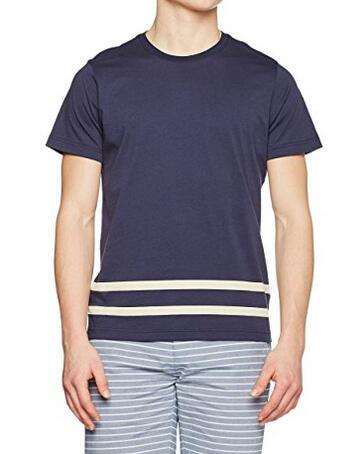 亚马逊海外购!Brooks Brothers 布克兄弟 男士纯棉条纹T恤