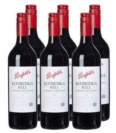 中亚会员福利囤货!Penfolds 奔富蔻兰山设拉子干红葡萄酒750ml*6瓶