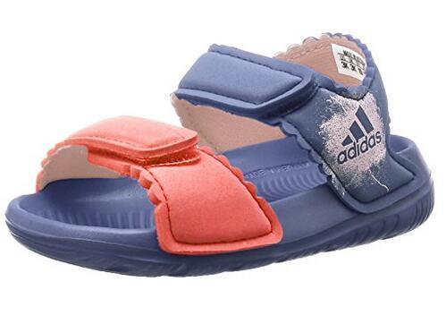 日本亚马逊!一大波Adidas阿迪达斯小童款凉鞋/沙滩鞋新低价来袭