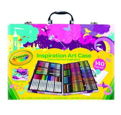 亚马逊海外购!Crayola 绘儿乐 Inspiration 高级小艺术家精美礼盒
