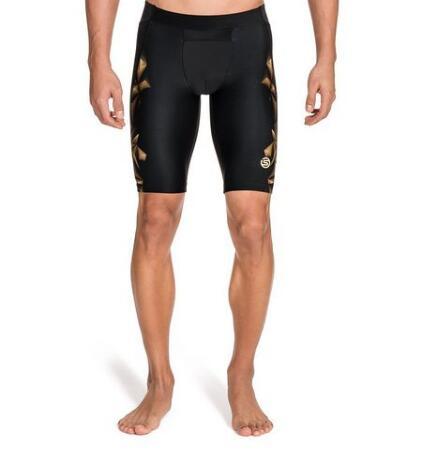 日亚prime会员专享!SKINS 思金斯 A400 Gold 男士压缩短裤