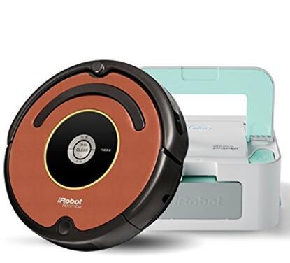 Prime会员专享!iRobot Roomba 527E 扫地机器人+Braava 241 拖地机器人