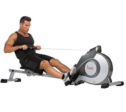 历史最低!Sunny Health & Fitness SF-RW5515 家用磁阻划船器