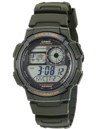 美亚prime专享!CASIO 卡西欧 AE1000W-2AV 男士运动腕表