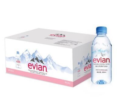 趁primeday囤一箱!Evian 依云天然矿泉水330ml*24(法国进口)