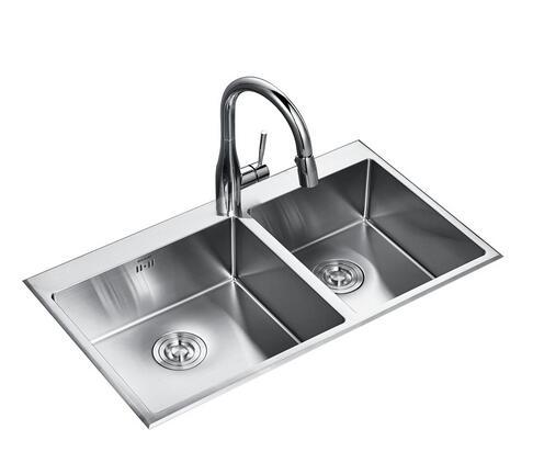 中亚特价限Prime会员,Bravat 贝朗 K0001-Z 不锈钢水槽套装