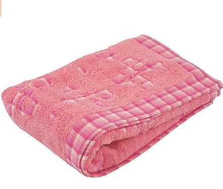 手快!亚马逊海外购推荐!日本内野蝴蝶结纯棉浴巾 60X120厘米