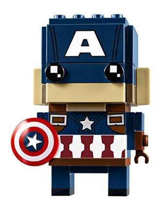 历史新低! LEGO BrickHeadz 41589 美国队长积木组装人偶