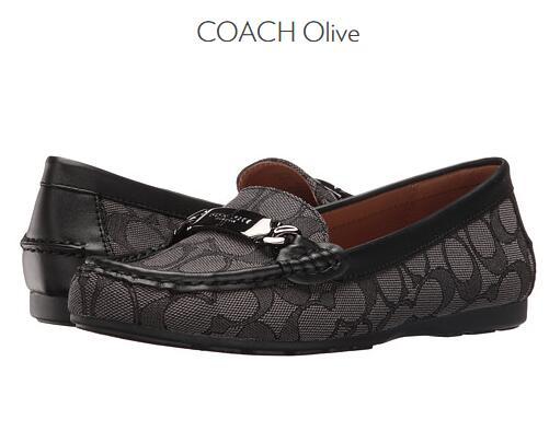 6PM新低!COACH 蔻驰 Olive 女士真皮乐福鞋