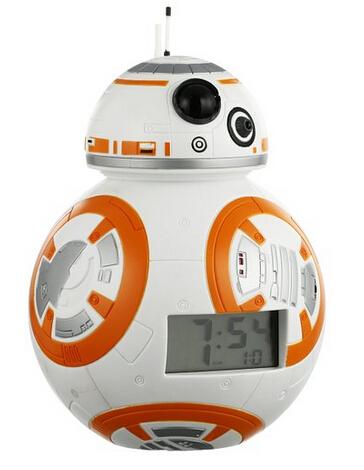 可爱 ! 星球大战Star Wars BB-8机器人闹钟
