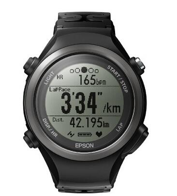 美亚新低价!EPSON 爱普生 Wristable GPS SF-810B 运动手表