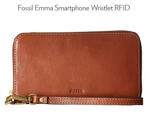 6PM海淘!FOSSIL Emma RFID 化石女士手拿包