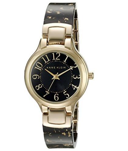 亚马逊海外购!Anne Klein AK/2380BKGB 女士时装腕表