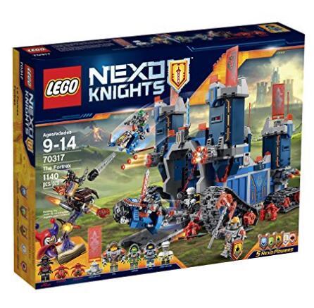 超值高达1140颗粒!LEGO 70317 乐高未来骑士团系列移动堡垒