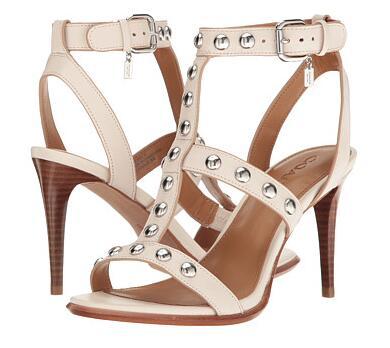 6PM海淘COACH!COACH 蔻驰 Isabell II女士高跟罗马凉鞋