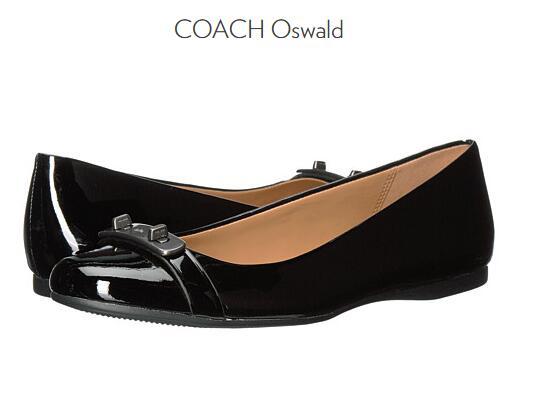 6PM海淘新低!COACH 蔻驰 Oswald 女士平底鞋