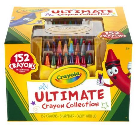 亚马逊海外购孩子礼物!Crayola 绘儿乐 152支装蜡笔套装