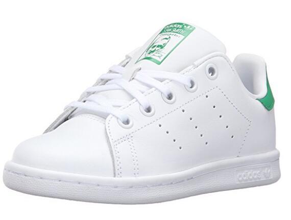 限Prime会员! adidas 阿迪达斯 Stan Smith C 儿童休闲运动鞋