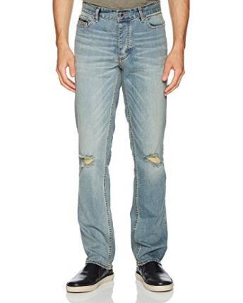 海淘牛仔裤! Calvin Klein Slim Straight 男士牛仔裤
