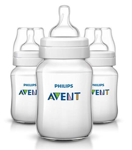 美亚新低!飞利浦 AVENT 新安怡 Anti-colic宝宝PP奶瓶 3个