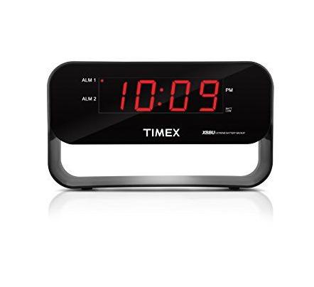 价格合适!TIMEX 天美时 T128B XBBU Dual Alarm 双重闹钟