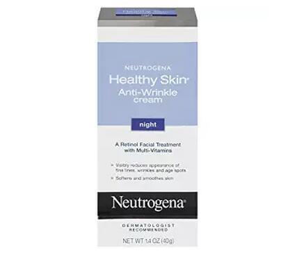 凑单品!Neutrogena 露得清 Healthy Skin 抗皱晚霜 40g