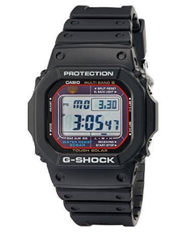 又到低价!CASIO G-SHOCK GWM5610-1 卡西欧男士电波表