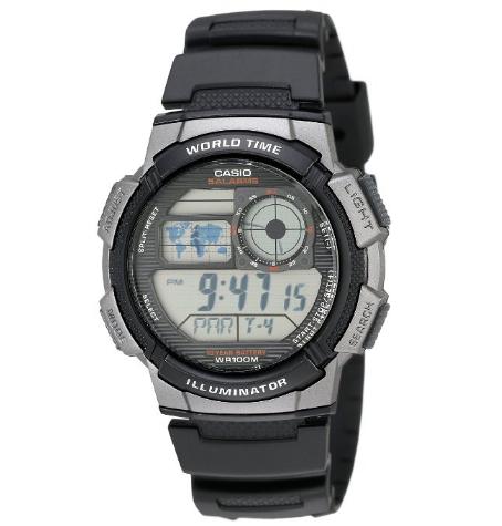2017美亚黑五,CASIO 卡西欧 AE1000W-1B 男款运动腕表