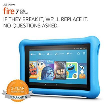 美亚好价,Amazon 亚马逊 Fire Kids Edition 7英尺儿童平板电脑