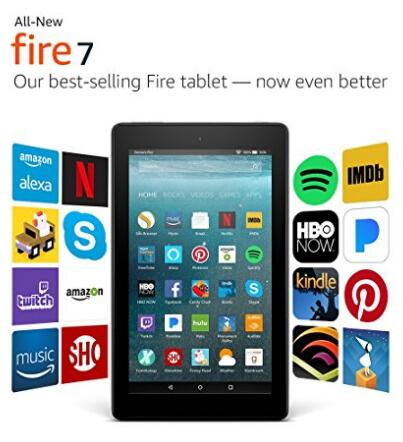 美亚好价!Amazon 亚马逊 Kindle fire 7 平板电脑 基础版 8GB