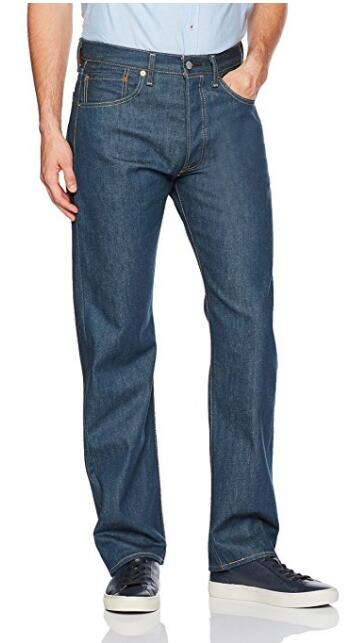2017美亚黑五,Levi's 李维斯 501系列 B076LTL9J4  男士直筒牛仔裤